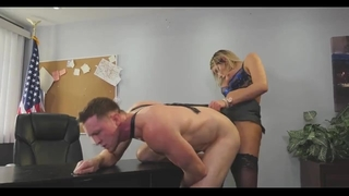 Mature Shemale Fucks Guy Ass