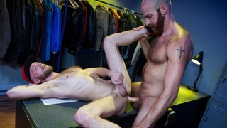 RagingStallion - Intense Otters Fuck Backstage of Sex Club