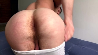 Friend Shows off Hole