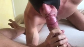 Sucking a Big one & Swallowing Delicious Load