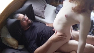 Lexi Rides and Fucks her Man while Moaning in Pleasure.