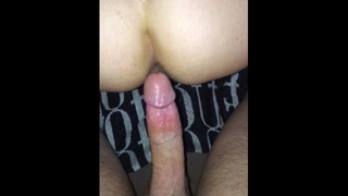 Close up Bareback Fuck - with Creampie and Moaning