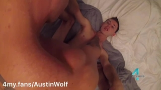 Visiting 18yo Sneaks away from his Family to get Bred: 4my.fans/austinwolf