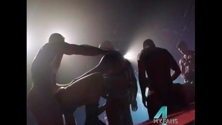 Public Stage Live Show Hustlaball in Cologne, Germany: 4my.fans/austinwolf