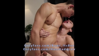 18 YO Twink Kissing, Dick Sucking, and Spitting in my Mouth W/ Hoss Kado!