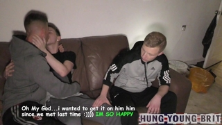 Gypsy Traveller TOP Rubs my LOAD in FIT Scally Barman Beauty - AMAZING Cum