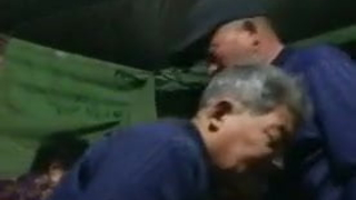 Asian Grandpa Blows Freind Infront Of Wife