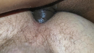 My white ass filleed with 2 loads of cum from my bbc buddy
