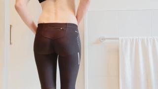 My Fuckable Ass in Yoga Pants!