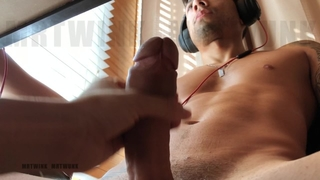 PREVIEW: Mr.k Sucks my Dick under the Desk while I Work
