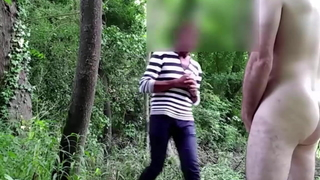 Exhib and voyeur in the wood 2