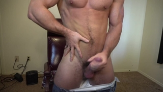 Dominate Daddy Shooting Cum