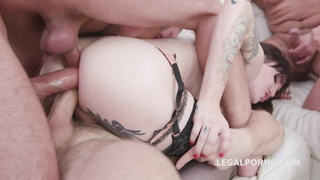 Shemale Triple Anal fucked