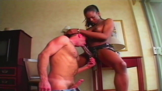 Giant shemale dick and white guy