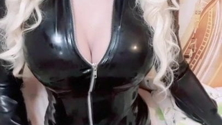 Bonnie Seven and her pre cum dripping cock