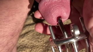 Chastity with Dilator 2