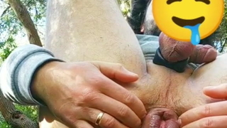 Squirting cum and gaping add