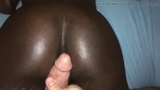 Virgin black tight asshole ripped wide open by white daddy