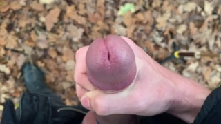 Teenager use Cock Ring for the FIRST TIME, HARD ORGASM ! OUTDOORS ! / PERFECT DICK /
