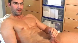 Beautiful Straight Gym Trainer Gets Wanked by a Guy in Spite of Himself.