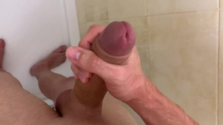 Teen Boy Jerking off in the Shower,Please do not tell my Daddy! / EXCLUSIVE