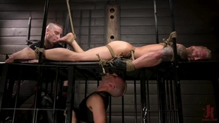 Muscle Dom Riley Mitchell Bound and Edged