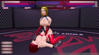 AnaloGirl Betas the Futa Succubus! - Kinky Fight Club