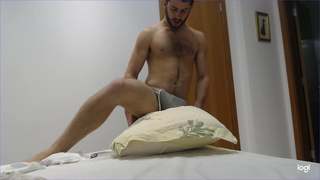 Alpha Male GIGANTIC bulge and dry humping