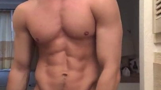 sexy male showing himself naked