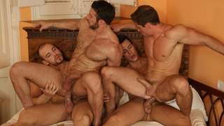 Can't leave this scene unsatisfied, there are 4 dicks in it
