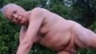 slave christian loucq outdoor caged and exposed