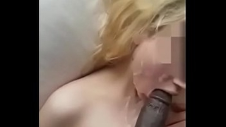 Innocent Tiny Teen Taking Her First BBC
