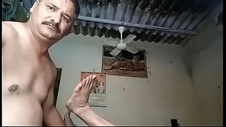 Indian uncle fucking his friend ass
