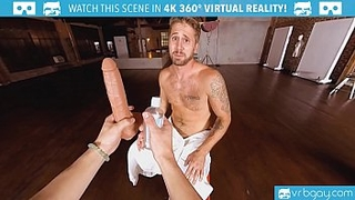 VRBGay.com Wesley Woods Stick A Big Dildo In His Ass