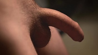 QUICK CUMMING WHILE RECORDING MY UNCUT COCK