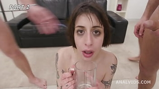 silvia soprano fucked and pissed again by 6 boys with balls deep anal dap pee d. big gapes and swallow btg049