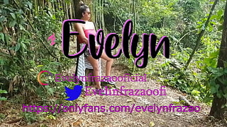 EVELYN FRAZAO IN THE FOREST SUCKLING ROLA