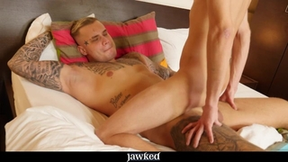 Jawked - Jock Ryan Cage Teaches Twink Ben Kingston a Lesson