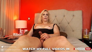 Milf tranny fucking herself with huge dildos