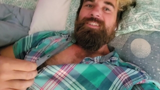 Unbutton Tease - Hairy Chest & Hot Cock in the Summer
