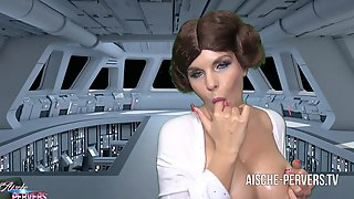 PORN WARS - Star Wars Hardcore Anal with Aische Pervers !!!