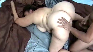 Thick juicy mature mama pounded hard