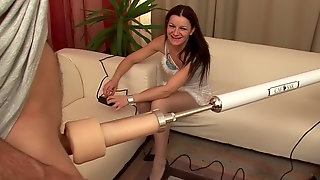 Radka Z sucks that horny dick with pleasure