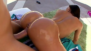 Kendra Lust with nice round ass