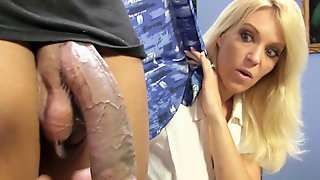 Charlee Chase And Daughter Samantha Faye Share Black Dick