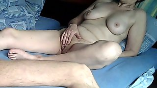 Hot Mature Teacher Masturbates With Her Student