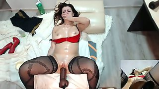I will never find a nasty slut like her and this slut loves her fucking machine