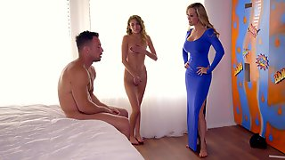 Stepmom, Threesome, Video For Boyfriend, Family, Mommy, Beeg, Trio, 3Some, Parents