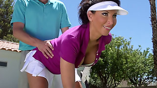 Sport, Boys To Boy, Sexy Dark Haired Milf Lezley Zen Gives A Head To Her Boy Outdoors, Anysex
