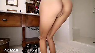 Amazing sexy babes find dildos in their pussys